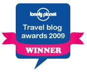 Lonely Planet Travel Awards winner