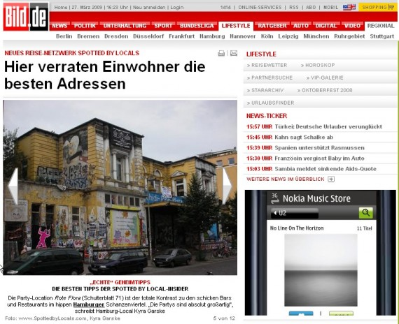 Bild.de publication