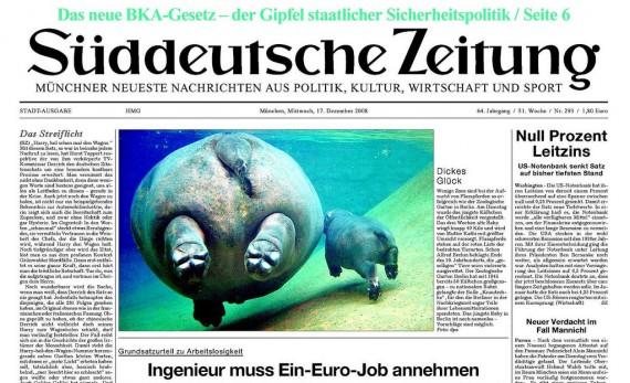 Sueddeutsche Zeitung (by Wolf Gang)